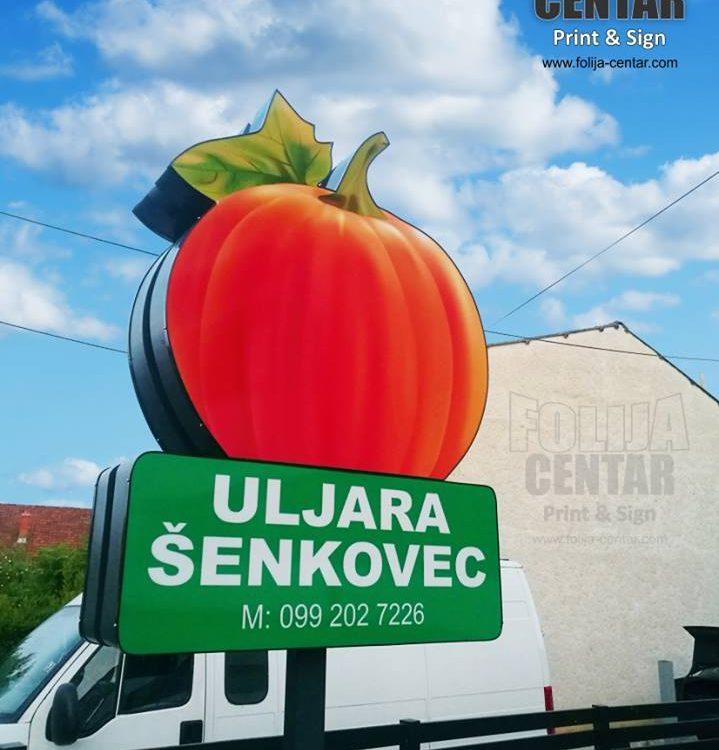 Svjetleće reklame FOLIJA CENTAR
